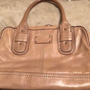 Kate Spade light tan bag